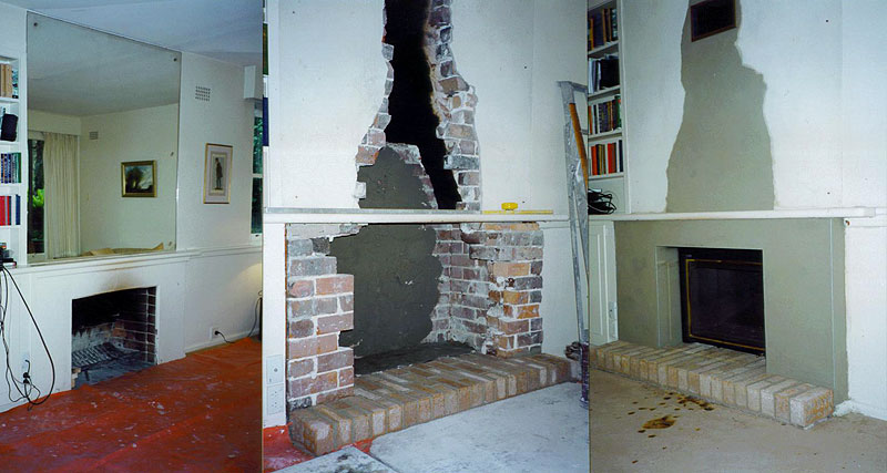 Fireplace Conversion