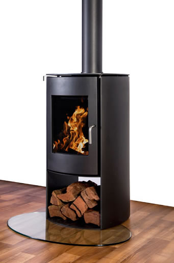 Nectre N60 Freestanding Wood Fireplace