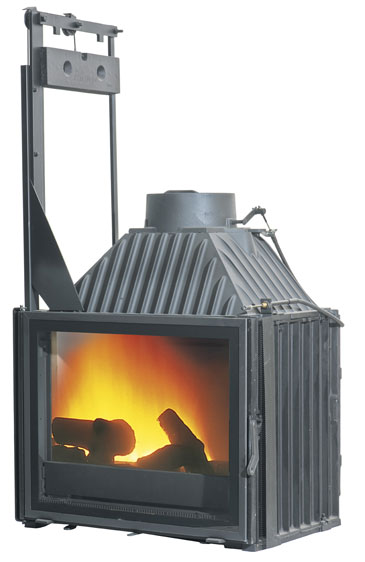 Cheminees Philippe Radiante 747 firebox