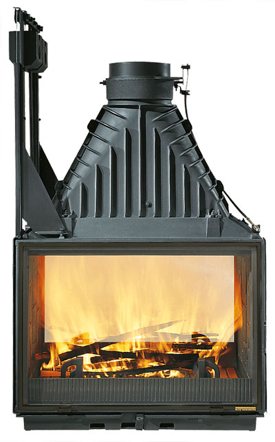 Cheminees Philippe Radiante 846 2V Wood Fireplace