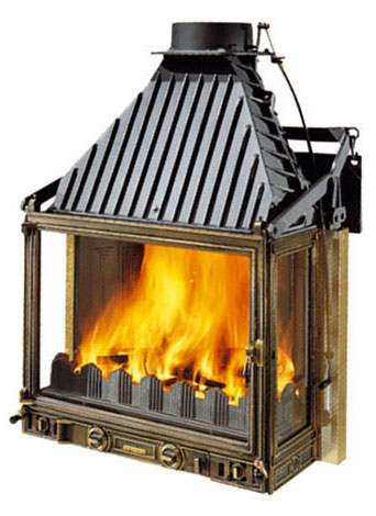 Cheminees Philippe Radiante 700 3V fireplace