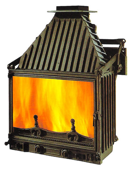 Cheminees Philippe Radiante 700 Wood Fireplace