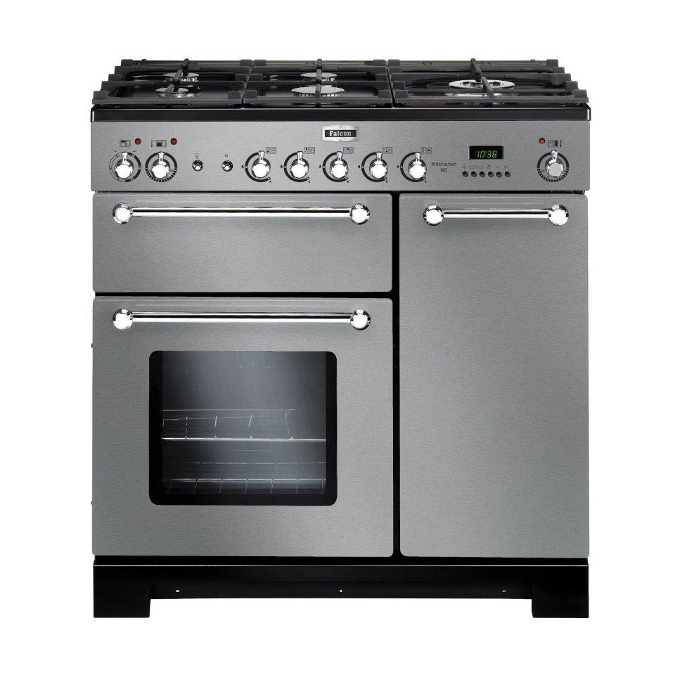 Falcon Kitchener 90cm dual fuel Oven stainless steel