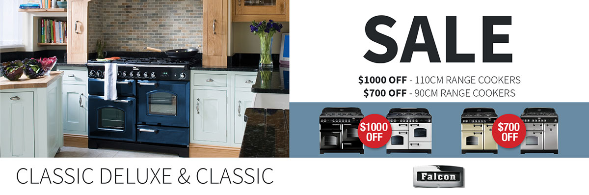 Up to $1000 Off any Falcon Classic & Classic Deluxe oven