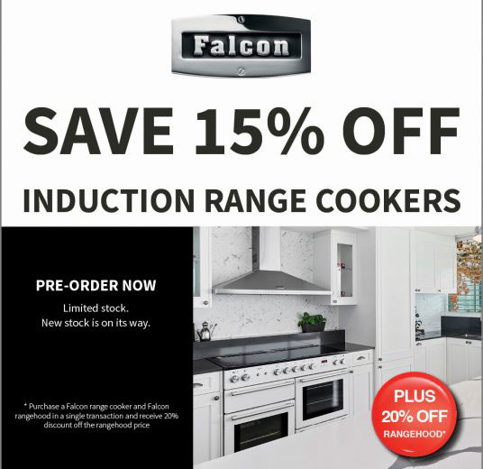 Falcon Oven sale - Up to $1200 off coloured range cookers