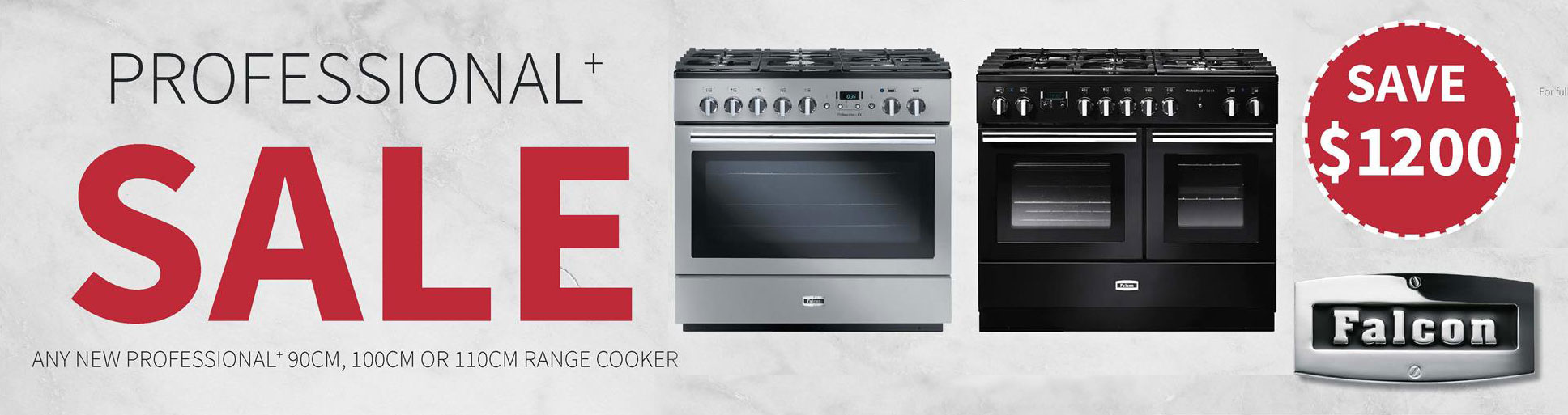Falcon Oven sale - $1200 Off Professional +