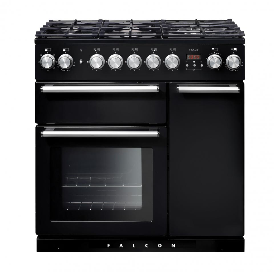 Falcon Nexus 90cm Dual Fuel Oven black