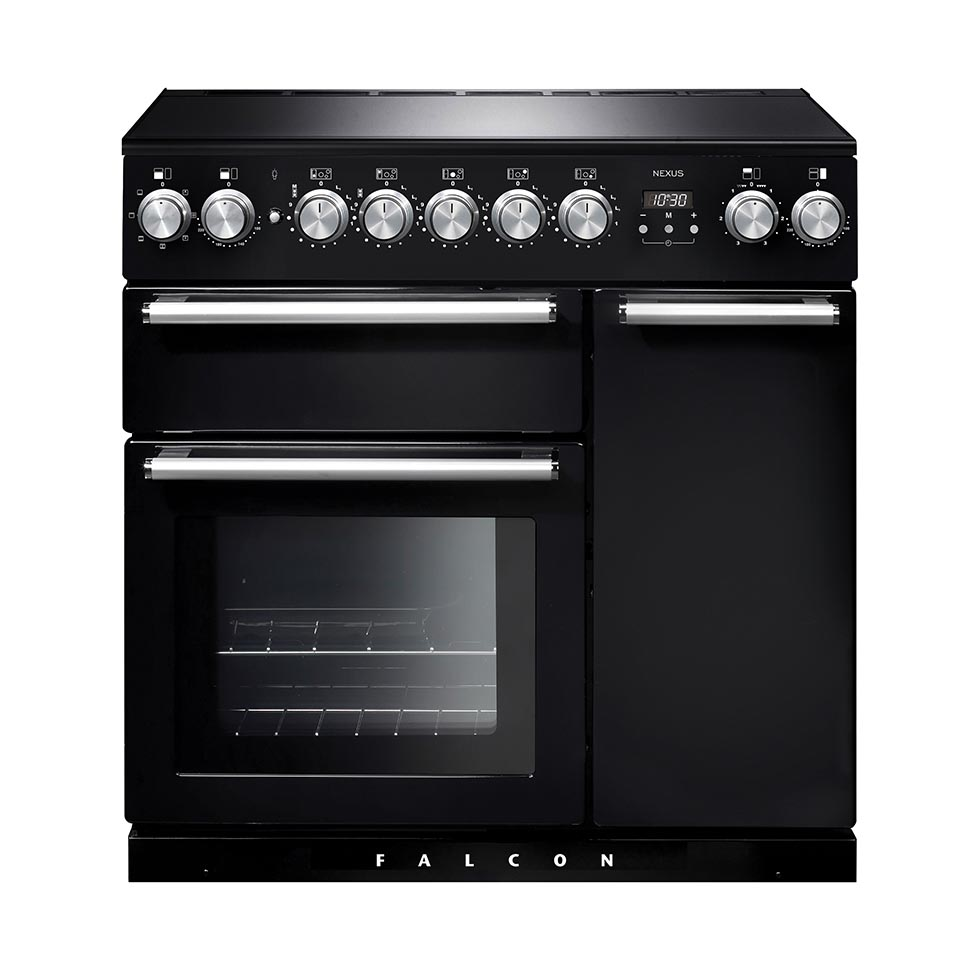 Falcon Nexus 90cm Induction Oven black