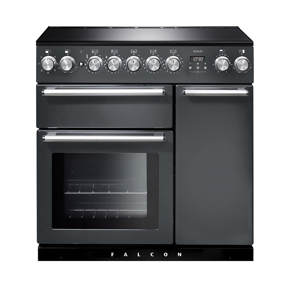 Falcon Nexus 90cm Induction Oven slate