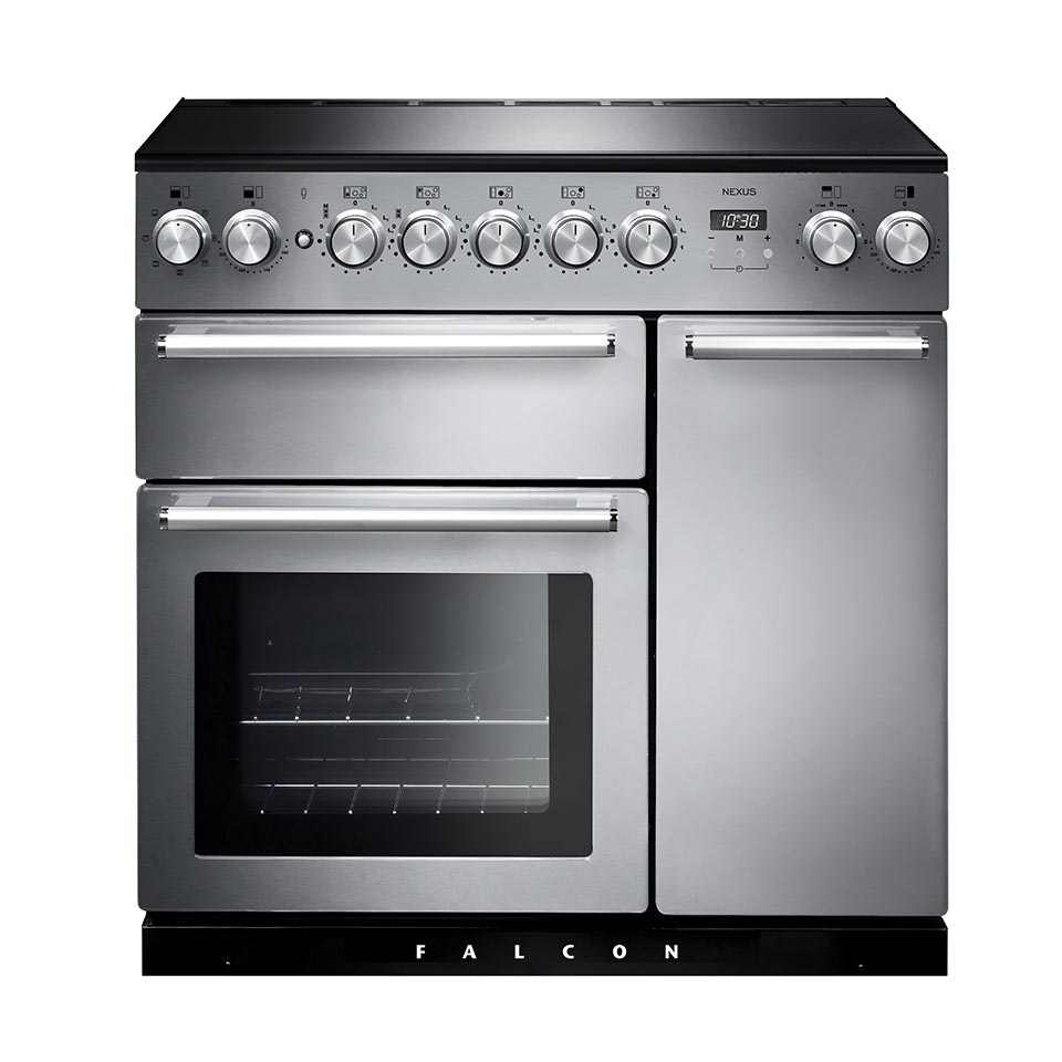 Falcon Nexus 90cm Induction Oven stainless steel
