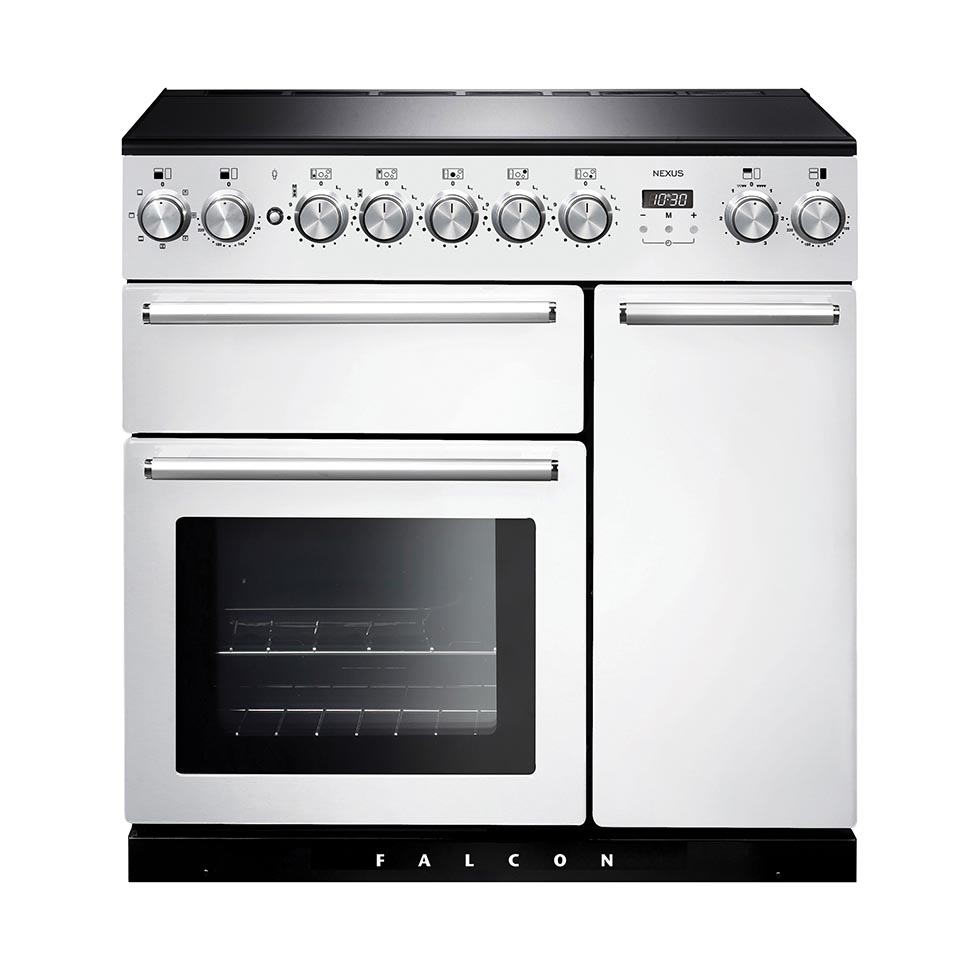 Falcon Nexus 90cm Induction Oven white