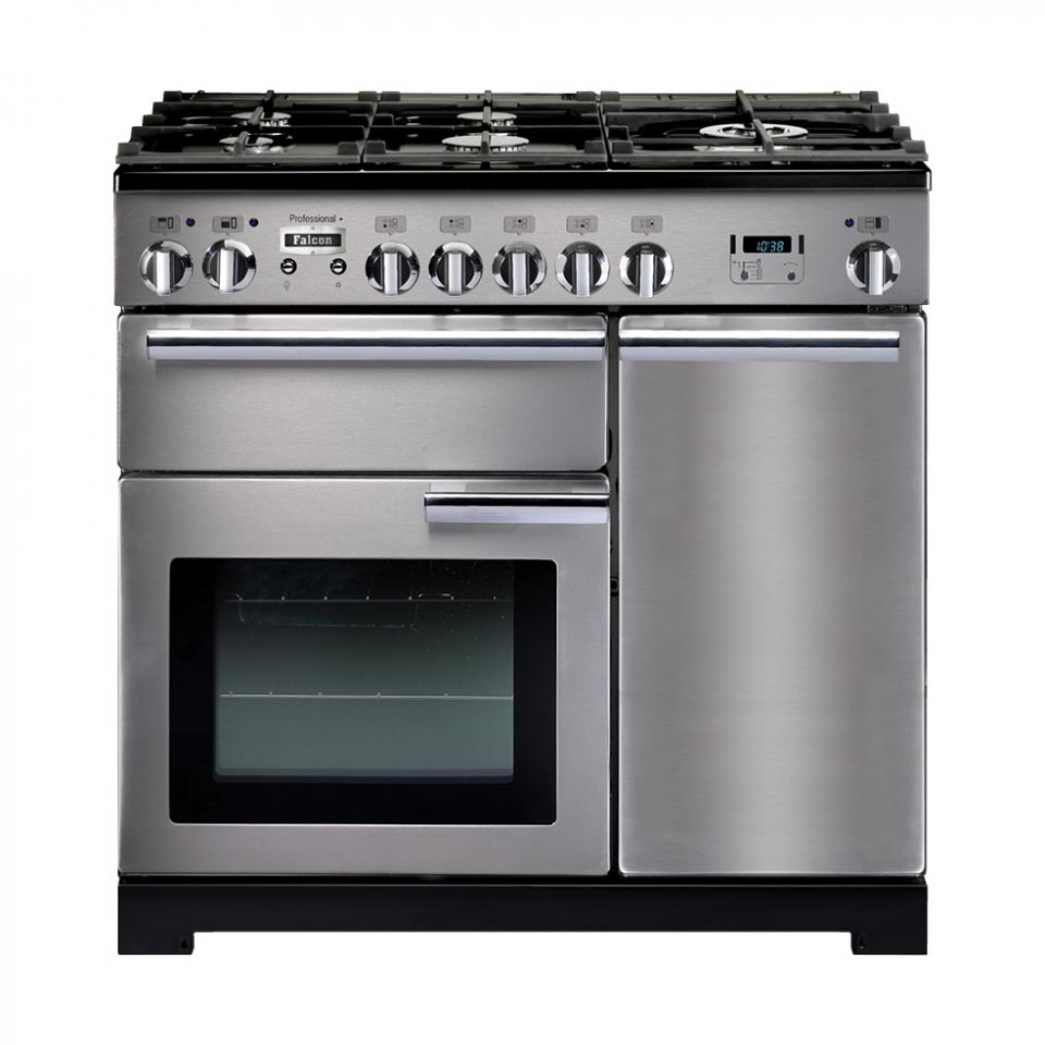 Falcon Professional+ 90cm Dual Fuel Stainless Steel Oven