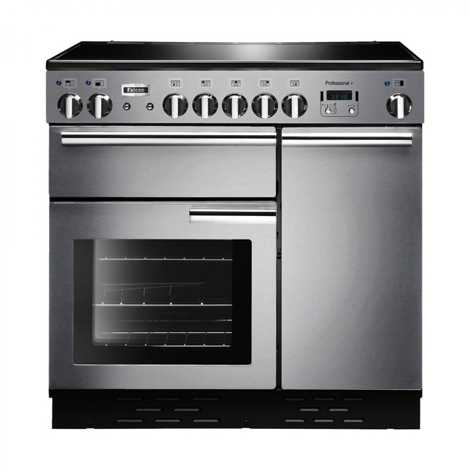 Falcon Professional+ 90cm Induction Stainless Steel Oven