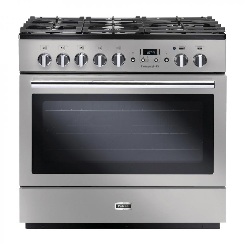 Falcon Professional+ FX 90cm Dual Fuel Oven Stainless Steel