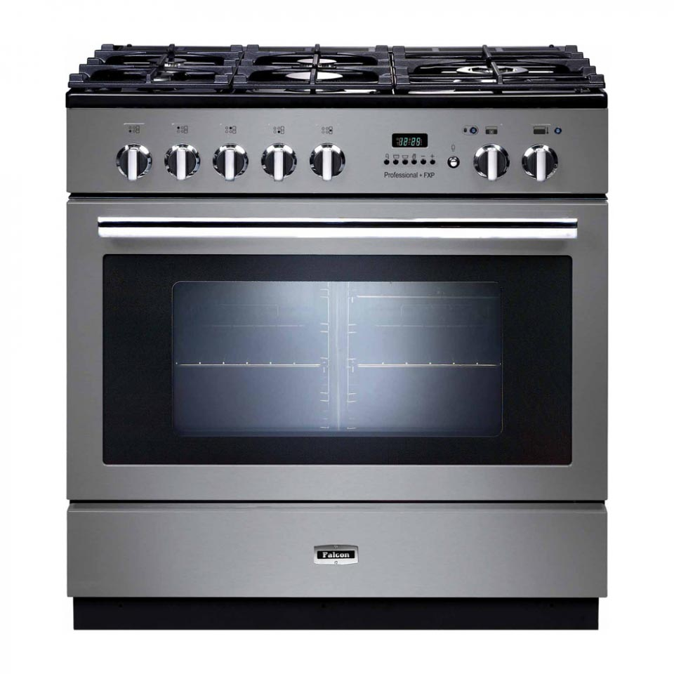 Falcon Professional+ FXP 90cm Dual Fuel Oven Stainless Steel