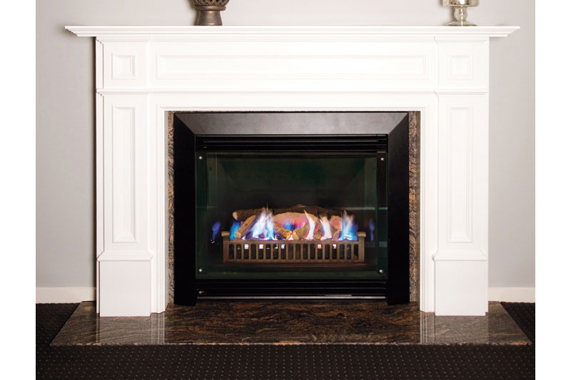 Real Flame Gas Fireplace Captiva