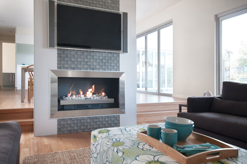 Real Flame Gas Fireplace Elegance
