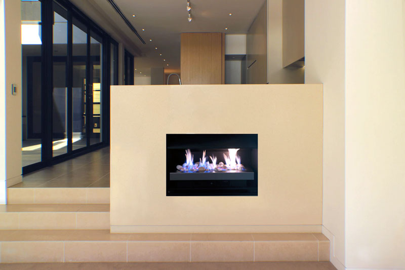 Real Flame Gas Fireplace Heatseeker