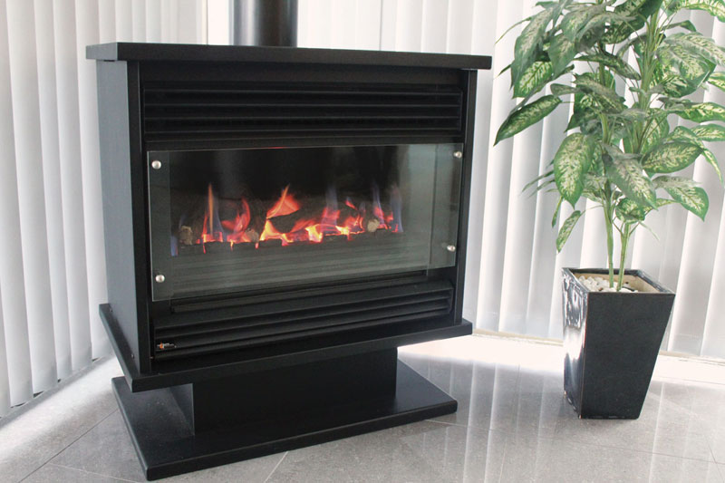 Real Flame Gas Fireplace Pyrotech