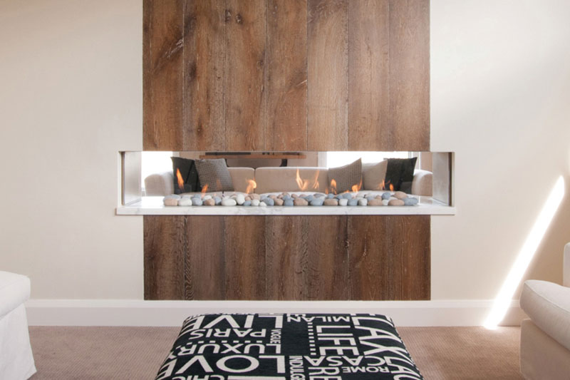 Real Flame Gas Fireplace Simplicity