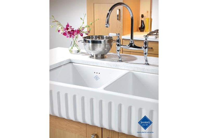 Shaws fire clay sink